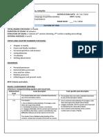 year 8 examination task outline