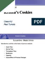 Kristen´s Cookies Business case
