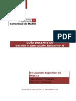 Guía docente GIE II.sep 2018