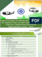India Passenger Car Market - 2022   TechSci Research