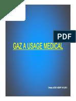 gaz médicaux