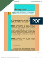 01 Ciencias de La Comunicacion - Paradigma Del Siglo XX - Sobre La Especificidad de La Comunicacion