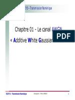 ELE113-Chap 01-Le Canal AWGN