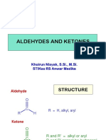 5.5 Aldehydes and Ketones