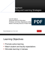 Creative Teaching and Learning Strategies