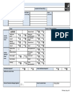location reconnaissance sheet college