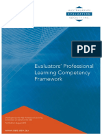 AES Evaluators Competency Framework