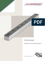 Schneeberger Zahnstangen Montageanleitung