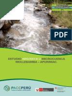 Estudio hidrologico de la Microcuenca Mollebamba. Apurimac..pdf