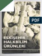 Eskişehir Halkbilim Ürünleri - M. Tekin KOÇKAR, 1999