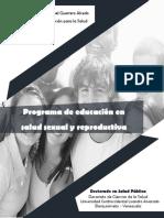 Programa de Promoción de la Salud (Factores protectores en a adolescencia)