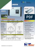 Inversor 2.5Kw - 4kW-48V MPP Solar