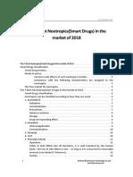 The 7 Best Nootropics(Smart Drugs) in the Market of 2018