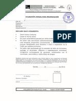 5.- Formato de Declaraciones Juradas
