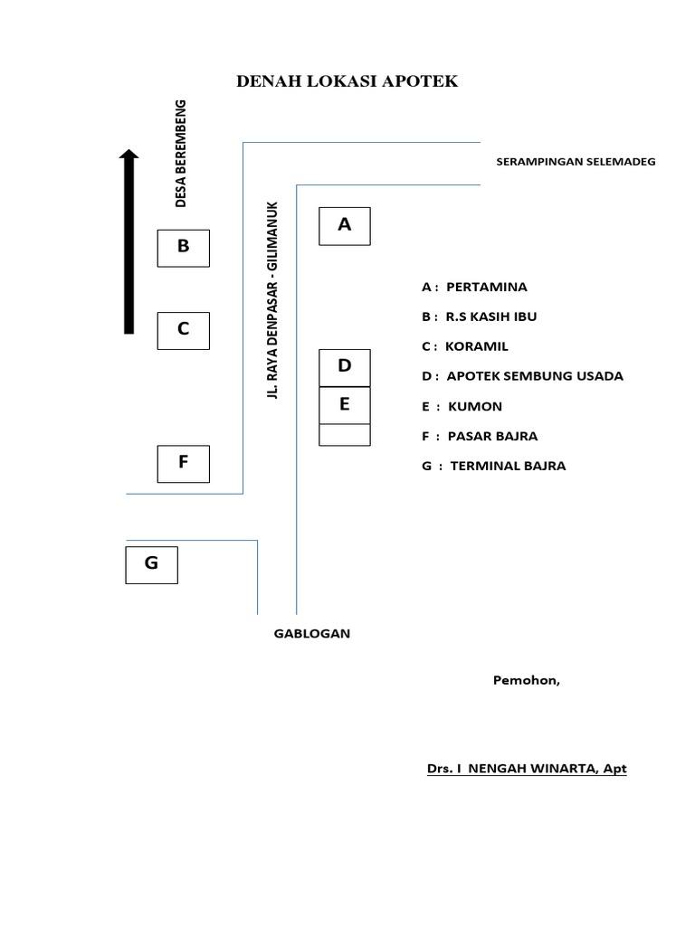 100 Contoh Denah Apotek Paling Baru Denah Denah apotek kimia farma