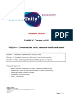 2018-10 EDU VU22586 Assessor Guide