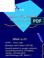 Outpatient Pediatric Surgery
