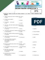 Soal UAS IPS Kelas 1 SD Semester 1 (Ganjil) dan Kunci Jawaban (www.bimbelbrilian.com).pdf