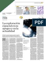 La Exploración Espacial en Su Apogeo y en La Actualidad