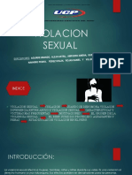 Violacion Sexual