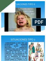 situaciones tipo II en manual de convivencias