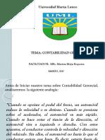 Contabilidad Gerencial Presentación BICU-UNAN 2012