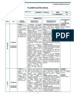 Historia Planificacion - 5 Basico