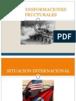 Las Transformaciones Estructurales 1