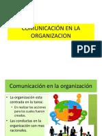 Comunicacin en La Organizacion