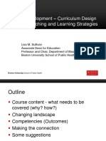 Faculty Development Curriculum Design