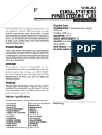3832 Global Synthetic Power Steering Fluid 0613