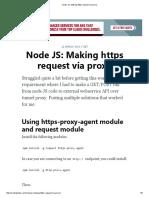 Node JS_ Making Https Request via Proxy