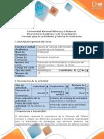 Guía de Actividades y Rúbrica de Evaluación – Fase 6 – Construir y Consolidar El Proyecto de Grado.