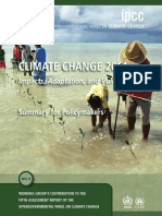 IPCC Impacts Summary