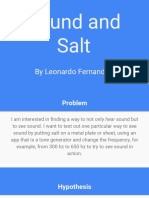 sound and salt - revised