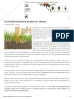 Corrección de Un Suelo Alcalino (PH Básico) « Agrologica – Ingenieria Agrícola