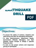 Earthauke Drill San Simon Elementary School