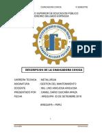 CHANCADORA CONICA