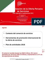 PLAN DE EXPORTACION DE SERVICIOS