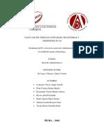 Informe Exposicion Locasion Derecho