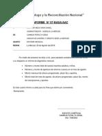 Modelo de Informe Menusal - La Merced Gema