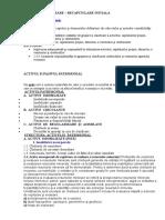 Recapitulare Initiala Clasa a10-A
