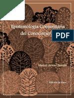 Marcel Arvea. Epistemologia Comunitaria Del Conocimien (1)