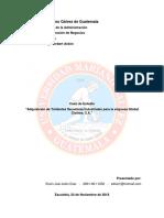 Adquisición de Tómbolas Secadoras Industriales Para La Empresa Global Clothes, S.A.