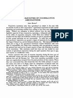 Antitrust Immunities of Cooperative Associations