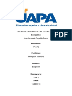English I Task 2