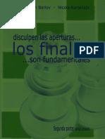 Disculpen las Aperturas, los Finales son Fundamentales II - Dragan Barlov - Nicola Karaklajic.pdf