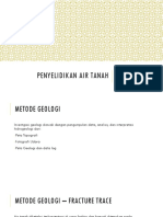 Metode Geologi hidrogeologi