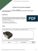 Como Convertir Una Fuente ATX en Una de Laboratorio _ ProProjects
