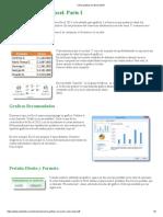 Como Graficar en Excel 2010